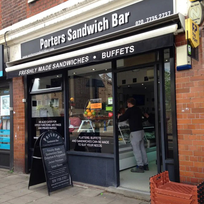 porters store front